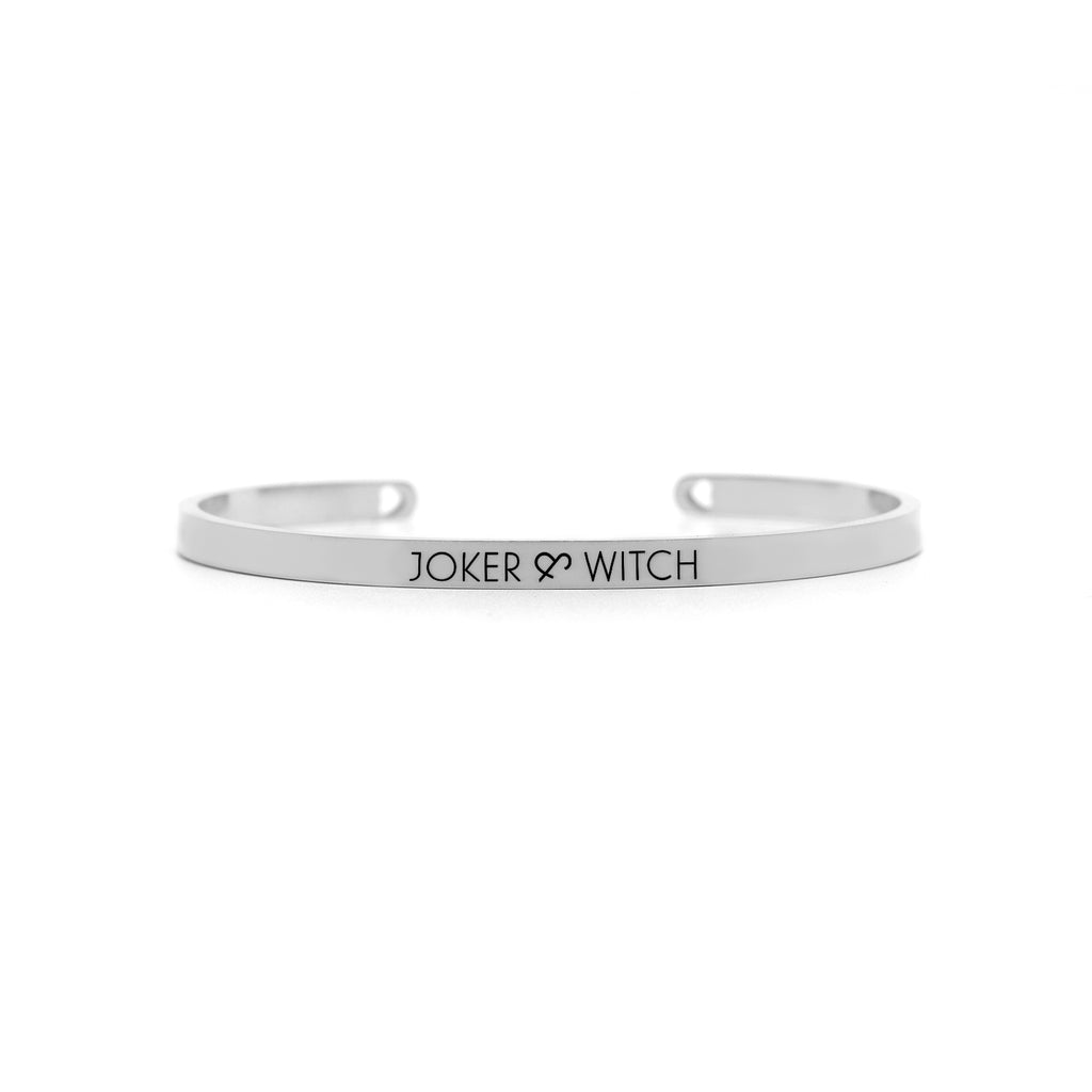Twinkle Silver and Gold Watch Bracelet Stack - Joker & Witch