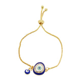 Julia Evil Eye Gold Bracelet