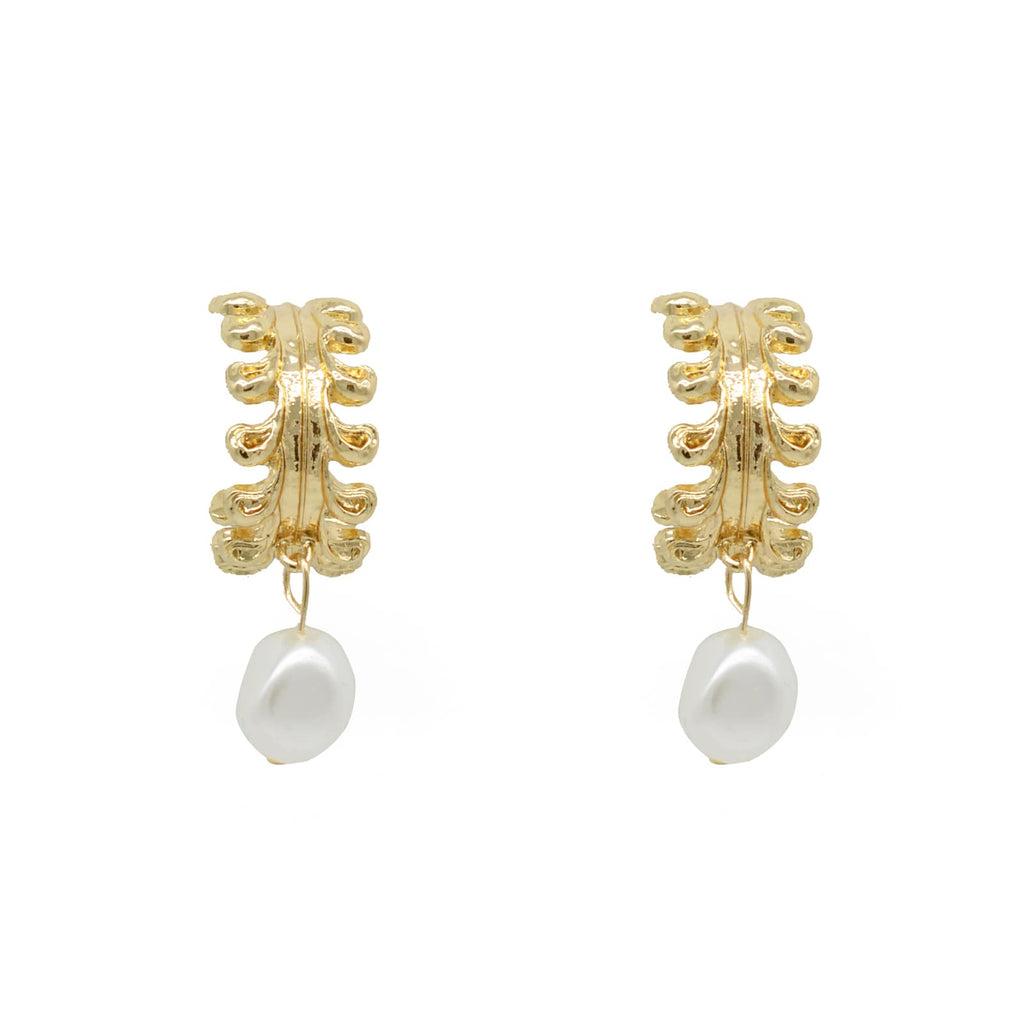 Abloom Pearl Earrings - Joker & Witch