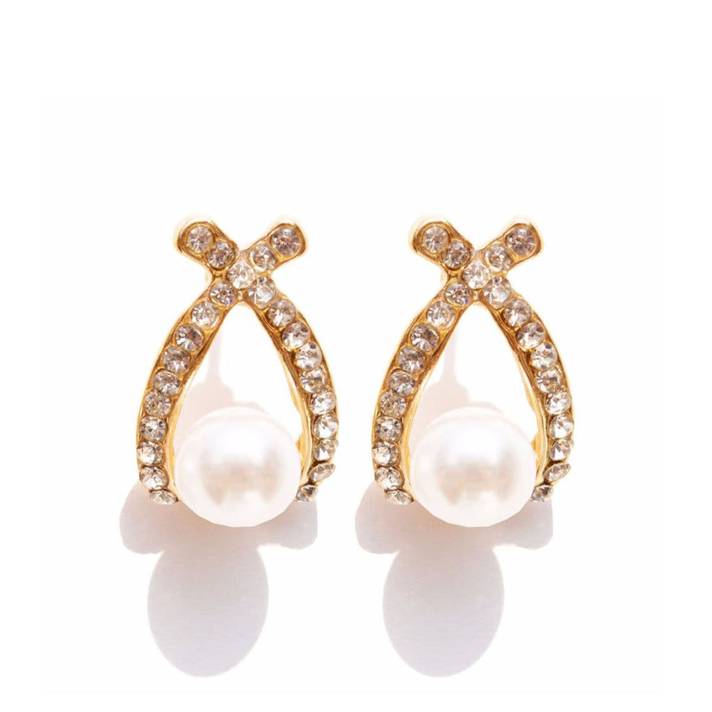 Pretty Pearl Ear studs - Joker & Witch - 1