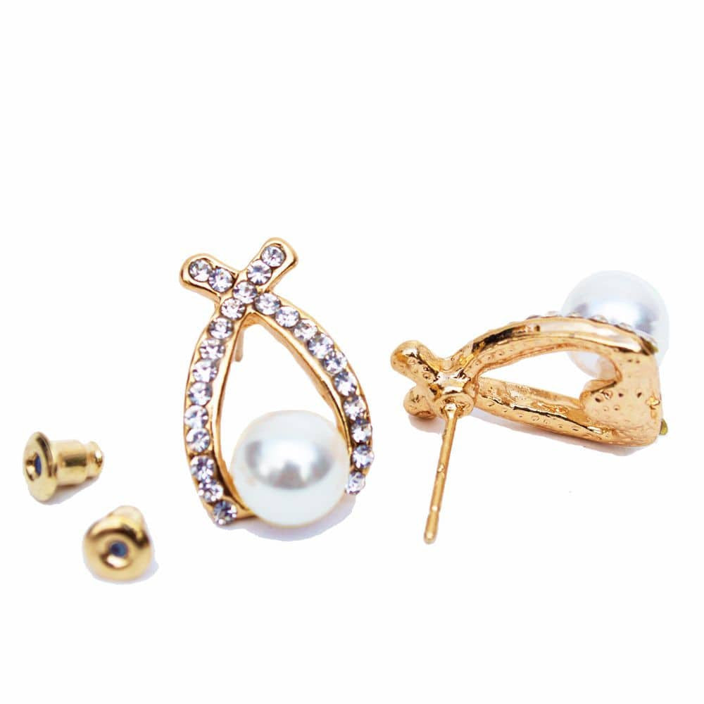 Pretty Pearl Ear studs - Joker & Witch - 5