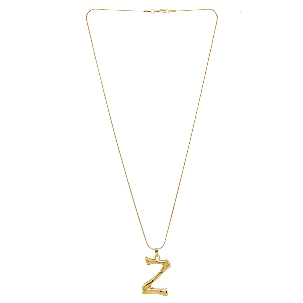 Z Initial Pendant Necklace - Joker & Witch