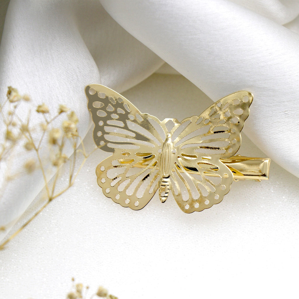 Butterfly Gold Hair Pin