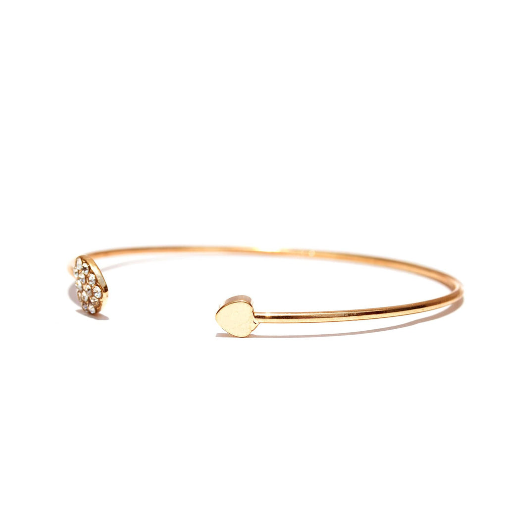 Gold Heart Bracelet - Joker & Witch