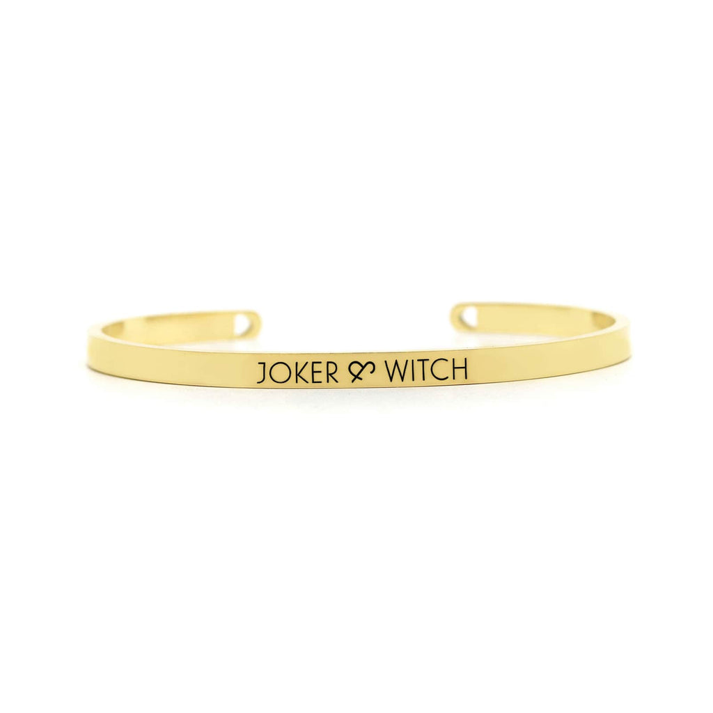 Joker & Witch Gold Band