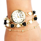 Black & White Rose Pearl watch - Joker & Witch - 2