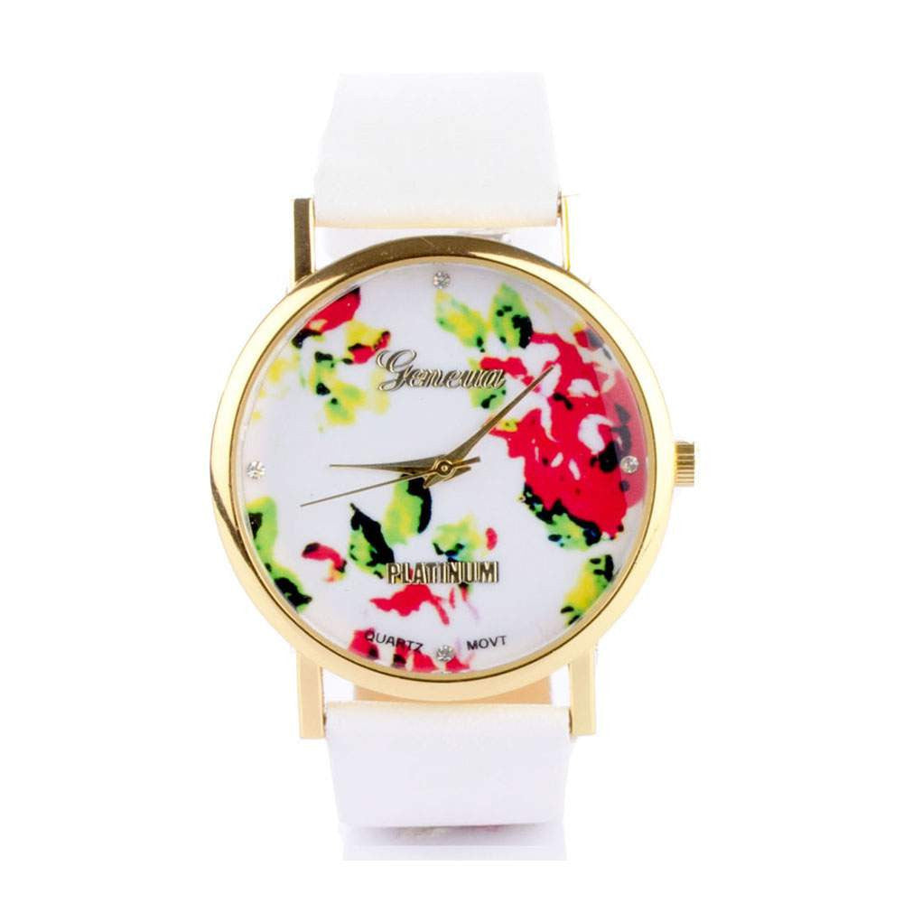 Floral White Watch - Joker & Witch - 1