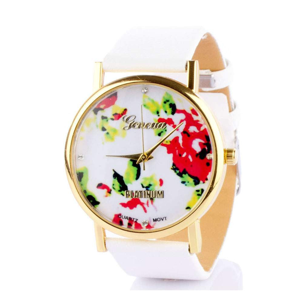 Floral White Watch - Joker & Witch - 2