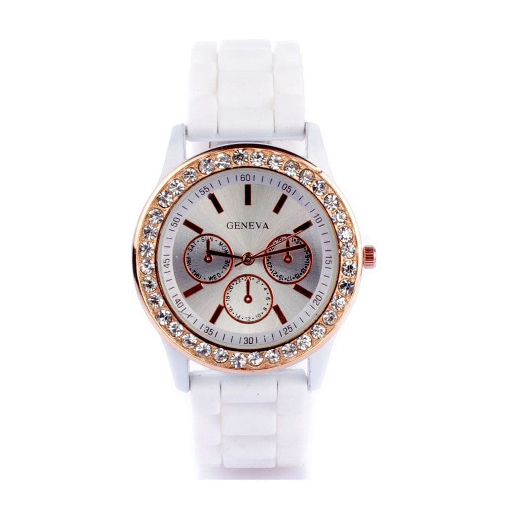 Diamante White Watch - Joker & Witch - 1