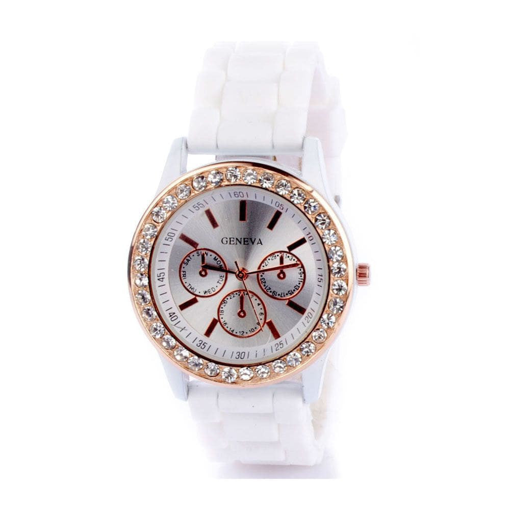 Diamante White Watch - Joker & Witch - 2