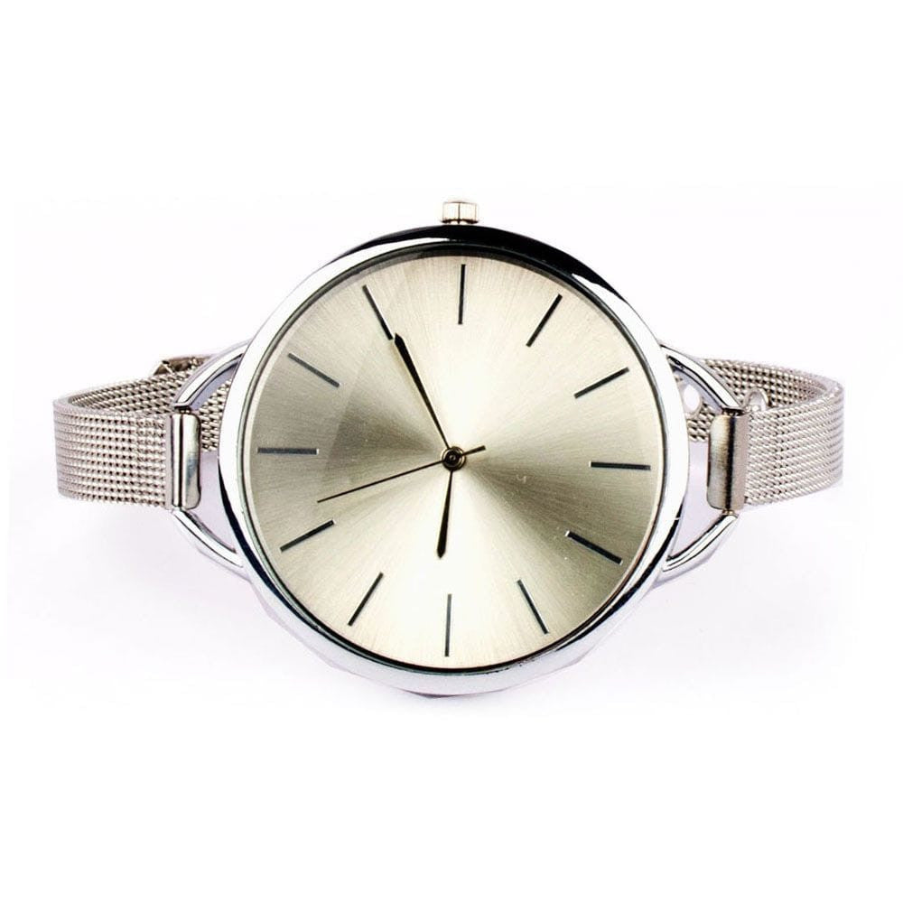 Sleek Chic Silver Watch - Joker & Witch - 2