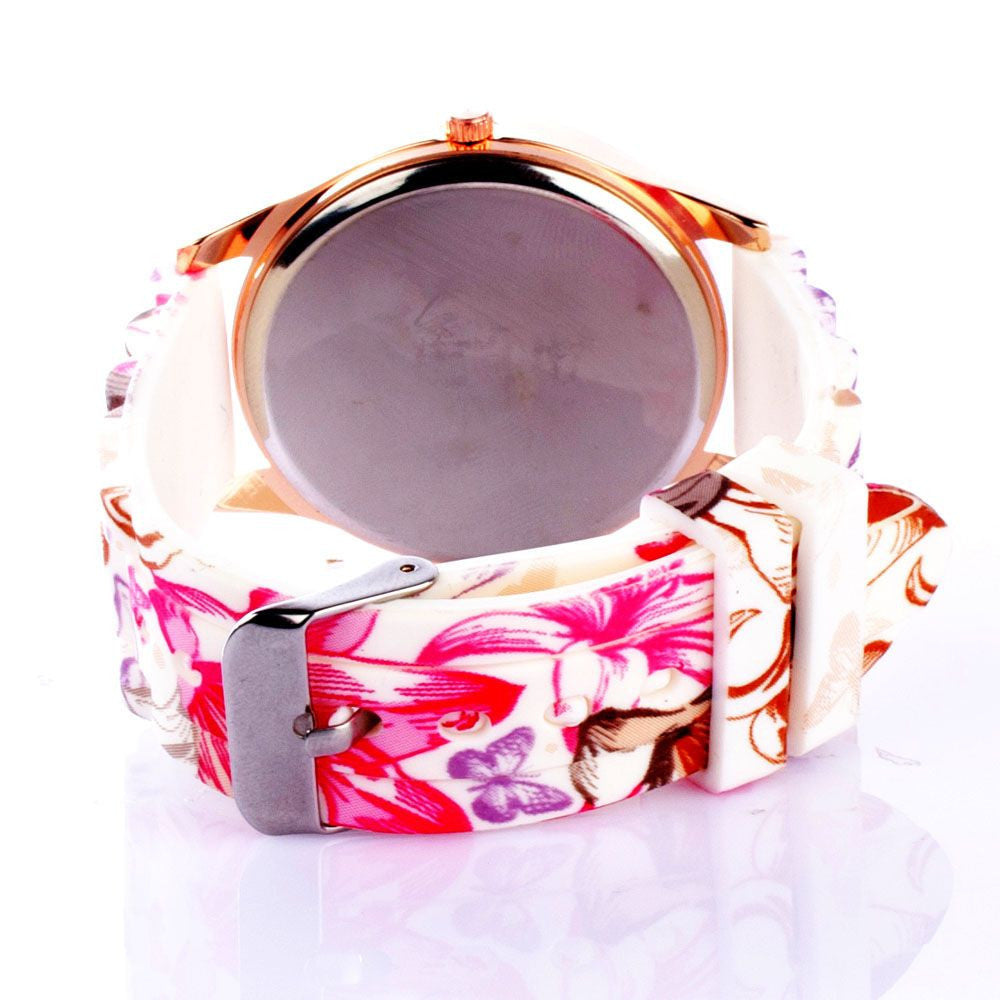 Floral Silicone Watch - Joker & Witch - 4