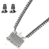 Aparna Metallic Silver Oxidized Jewelry Gift Set