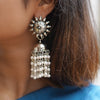 Teejh Rupangi Pearl Jhumki Earrings
