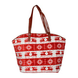 Red Soft Velvet Reindeer Bag - Joker & Witch - 1