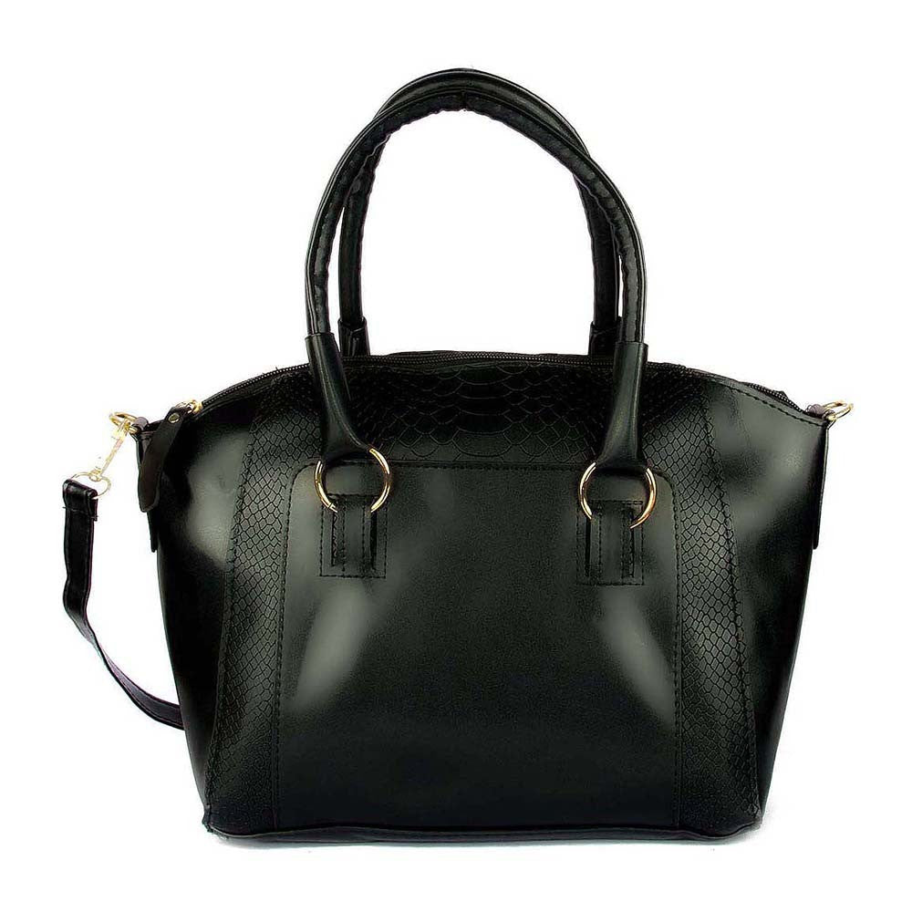 Crocodile Print Structured Tote - Joker & Witch - 1