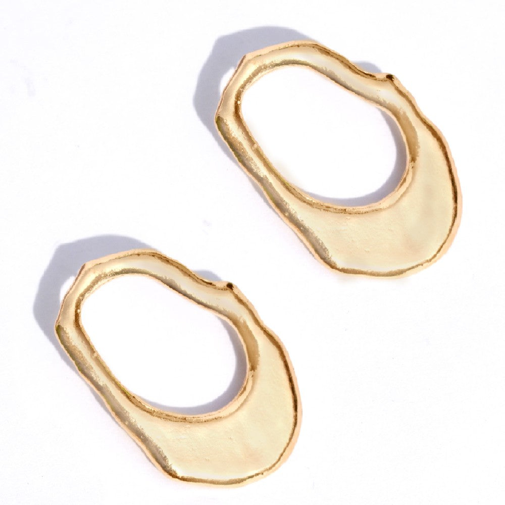 Fluid Gold Earrings
