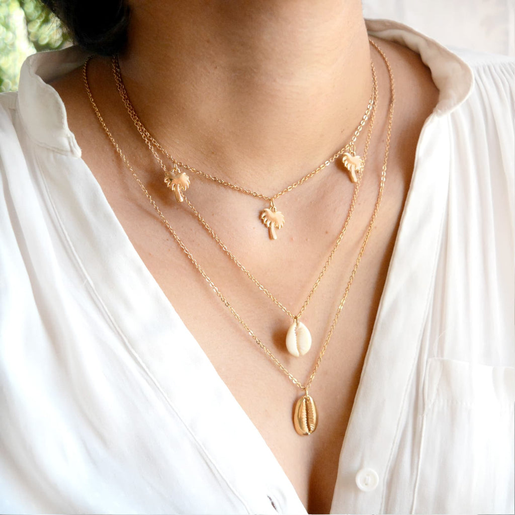 Rosegold Layered necklace