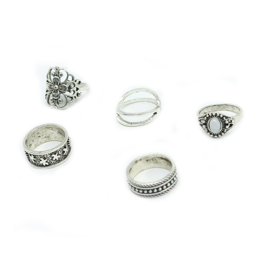 Vallorie set of 5 rings