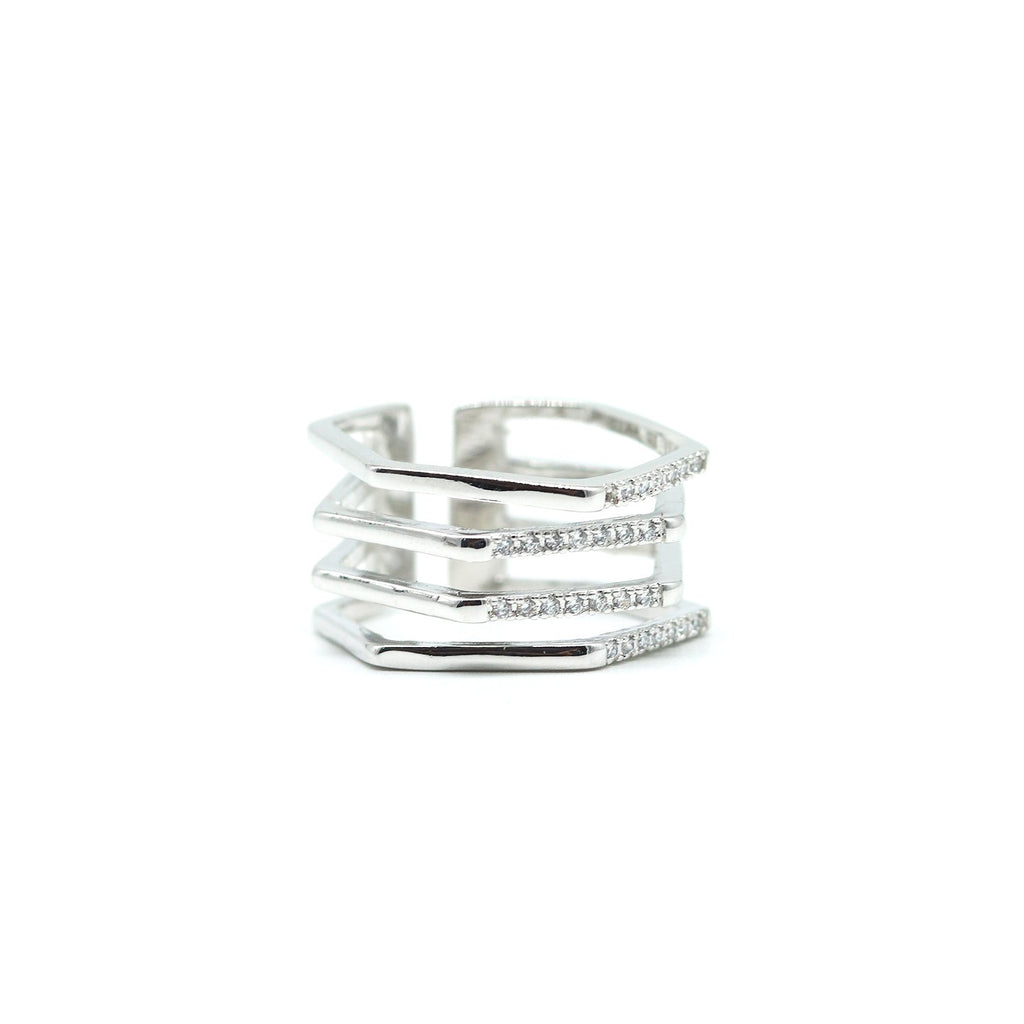 Shimmering Heart Jewellery Stack