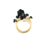 Sprinkle black ring