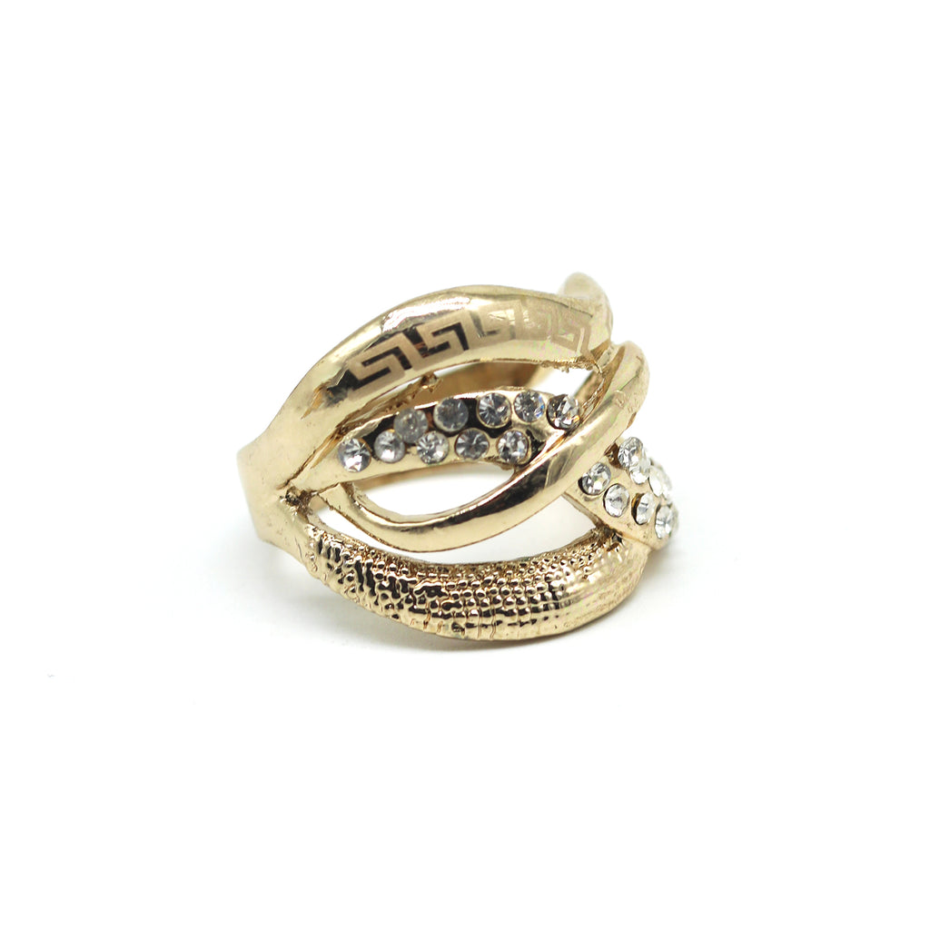 Dayla Gold Ring - Joker & Witch