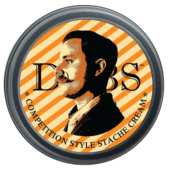 DUBS STACHE CREAM - FIRM HOLD - CITRUS WOOD WHOLESALE PKG OF 24 TINS