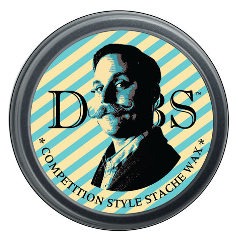 Dubs Moustache Wax medium hold beard care gifts for him