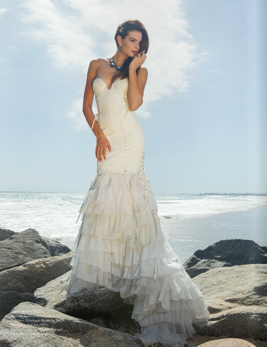 Venus Gown featured in Ocean Magazine