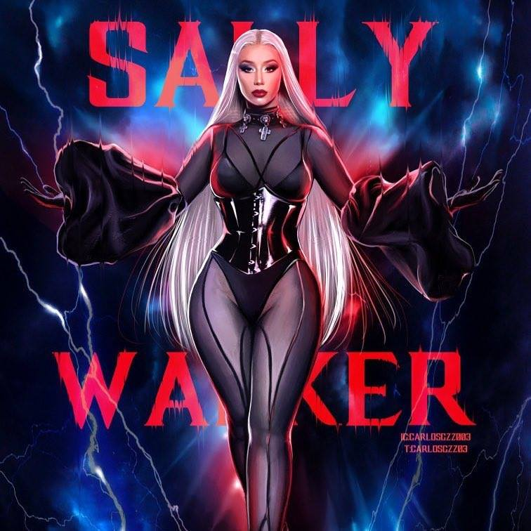 Iggy Azalea wearing RITUAL FASHION on the cover of her single Sally Walker