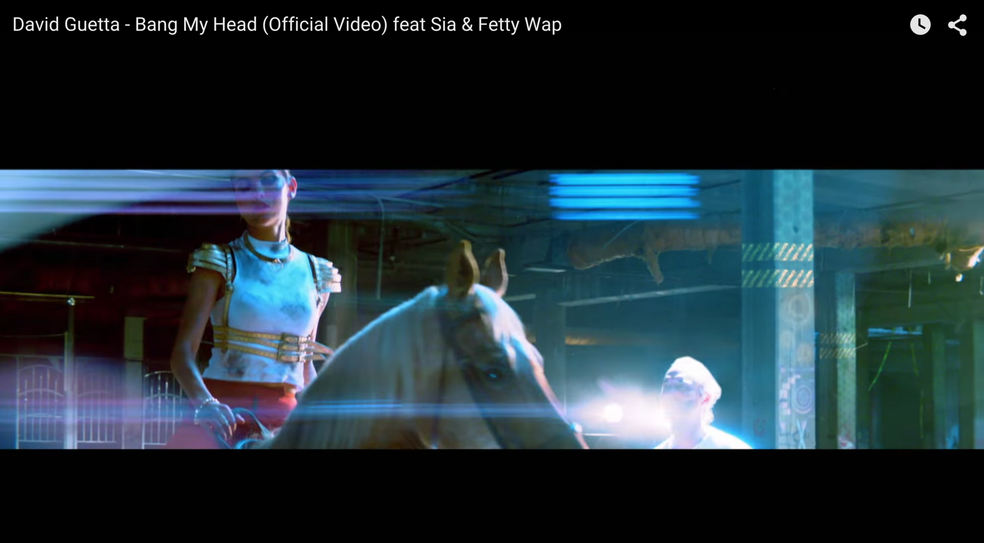 RITUAL in the new David Guetta - Bang My Head (Official Video) feat Sia & Fetty Wap