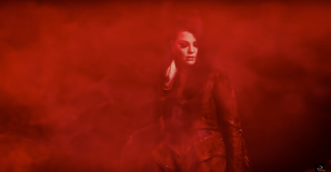 "So incredibly honored to have our #RITUAL Venus Jacket featured in the new music video for ""The Chain"" by Evanescence."