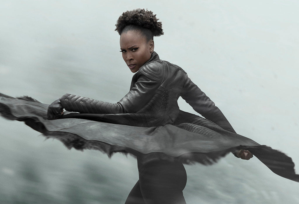 Sydelle Noel photographed by Steiner Creative wearing RITUAL Halcyon Jacket by Jillian Ann
