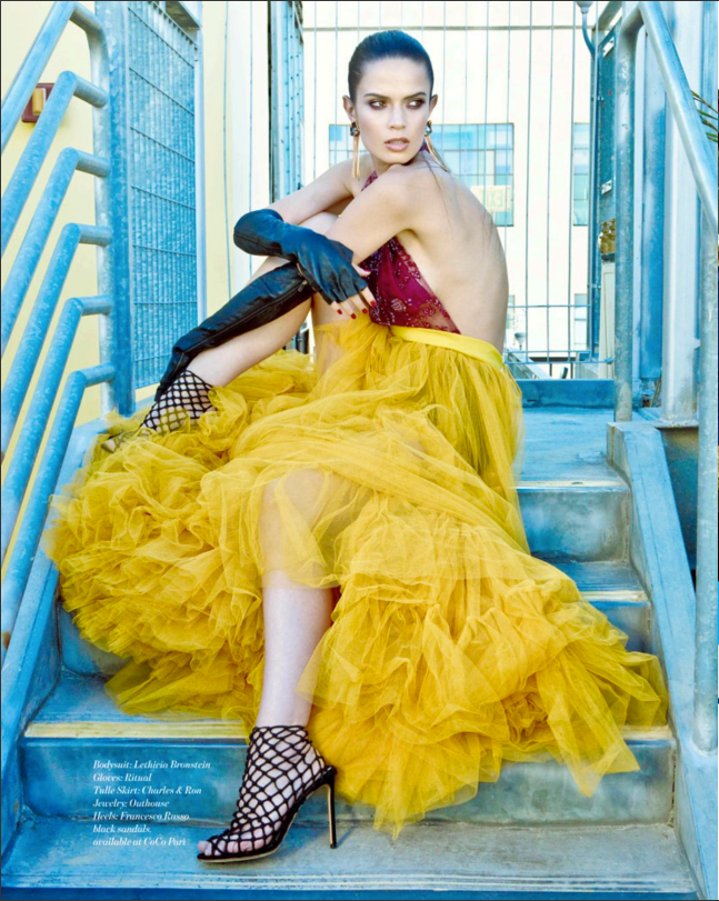 he Harlot Gloves by Ritual Fashion featured in Industry Magazine