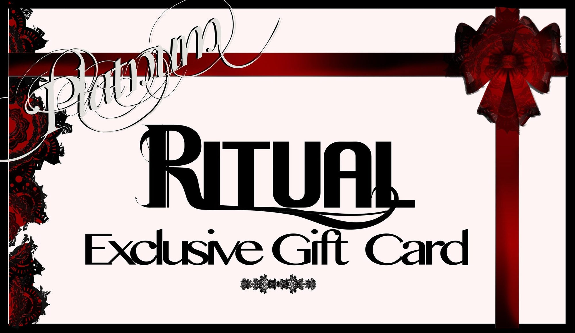 Gift Card - Platinum Gift Card
