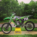 Kawasaki KX125 KX250 2-Stroke Workshop Service Reparatie Manual 1999-2002