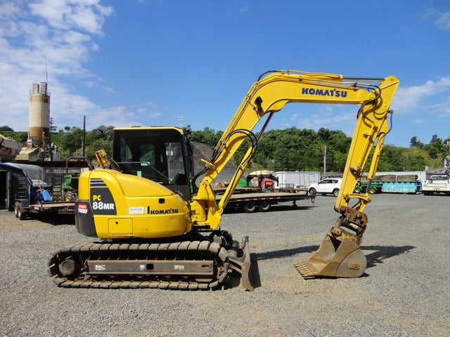 Komatsu PC88MR-8 Hydraulic Excavator Official Workshop Service Repair Technical Manual