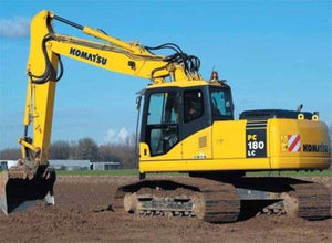 Komatsu PC180NLC-7E0 Excavator Official Workshop Service Repair Technical Manual