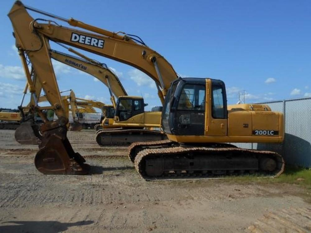 John Deere 200CLC 230CLC & 270CLC Excavator Official Workshop Service Repair Technical Manual