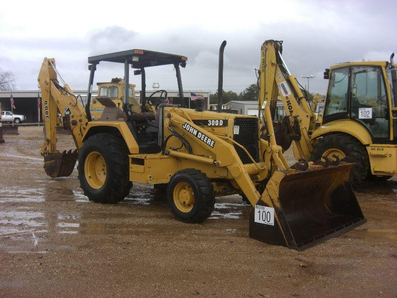 John Deere 300D, 310D, 315D Backhoe Loader Operation and Test Technical Manual