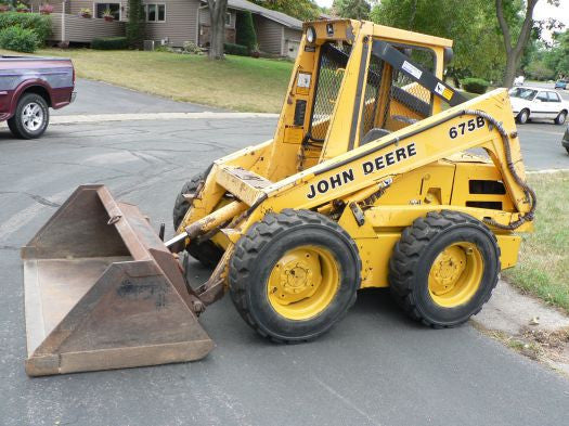 John Deere 675 And 675b Skid Steer Loader Technical