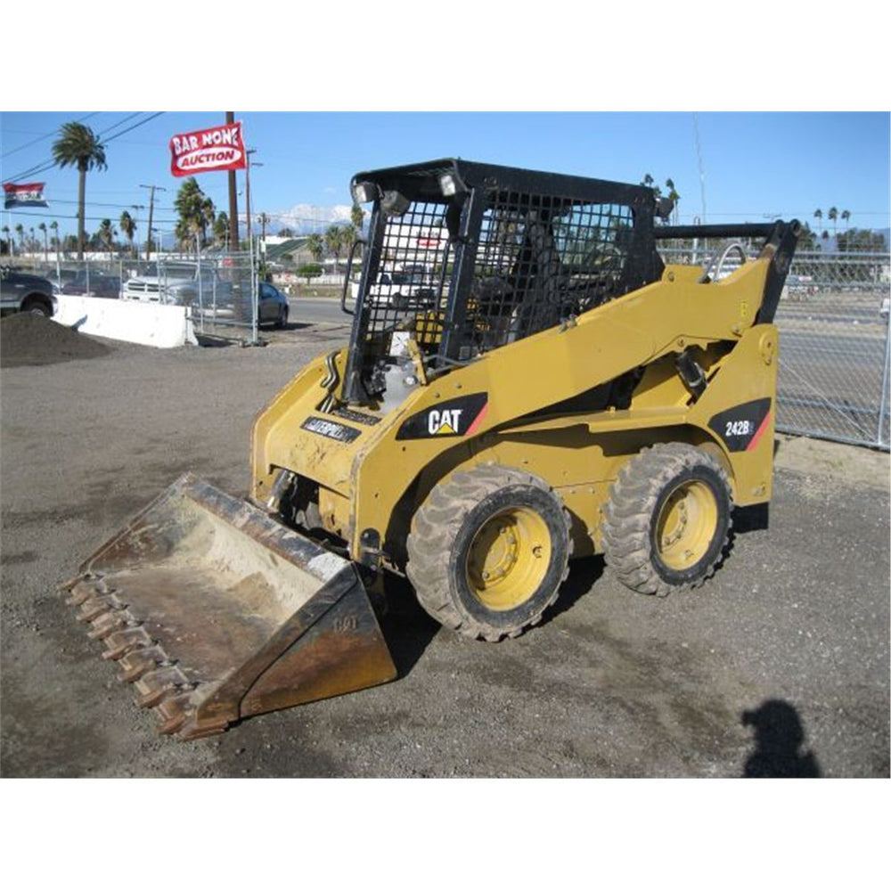 Caterpillar 226b And 242b Skid Steer Loaders Hydraulic