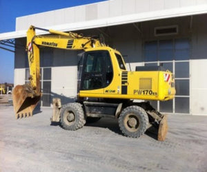 Komatsu PW170ES-6K Wheeled Excavator Official Workshop Service Repair Manuel de réparation