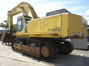 Komatsu PC800-6 PC800SE-6 Hydraulic Excavator Official Field Assembly Instruction Manual