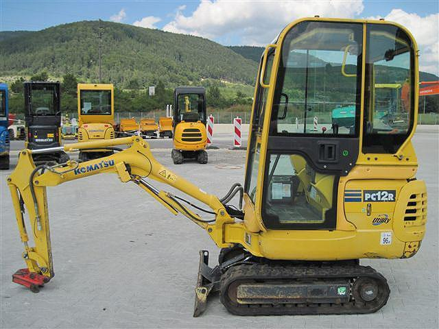 Komatsu PC12R-8 PC15R-8 Mini Excavator Official Workshop Service Repair Technical Manual