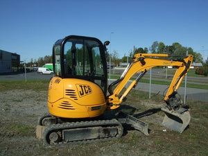 JCB 8025z 8030z 8035z Mini Crawler Excavator Workshop Service Manuel de réparation