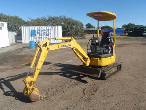 Komatsu PC18MR-2 Mini Excavator Official Workshop Service Repair Technical Manual