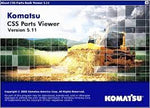 Komatsu CSS Viewer 5.11 EUROPE Parts Catalog EPC -ALL Parts Manuals For All Models & Serials Up To 2021