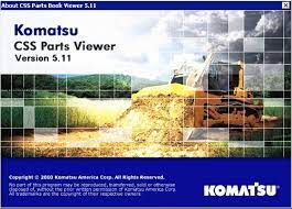 Komatsu CSS Viewer 5.11 JAPAN Parts Catalog EPC -ALL Parts Manuals For All Models & Serials Up To 2021