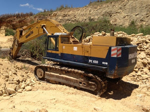 Komatsu PC650-1 Hydraulic Excavator Official Workshop Service Manuel technique de réparation